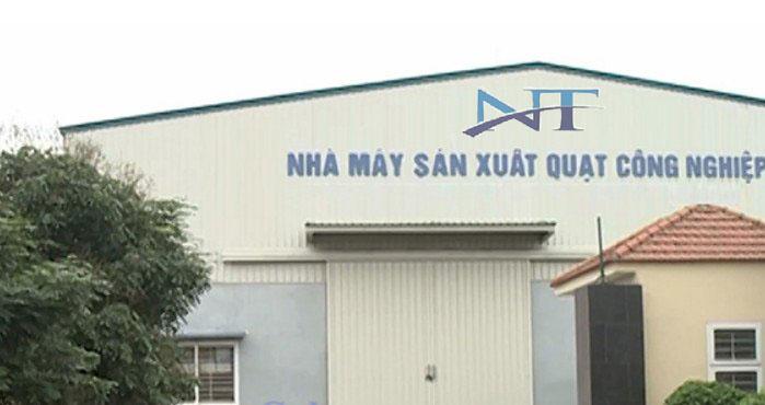 nhà máy sản xuất Quạt công nghiêp